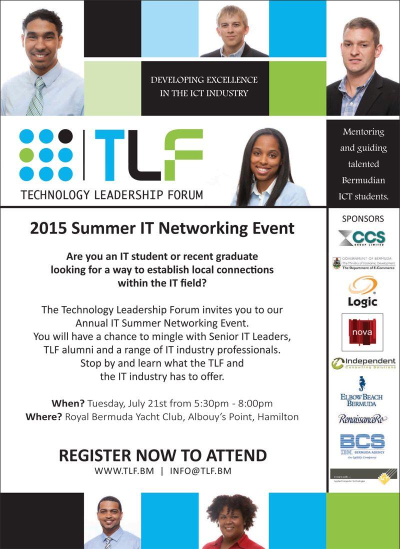 TLF summer networking flyer 2015