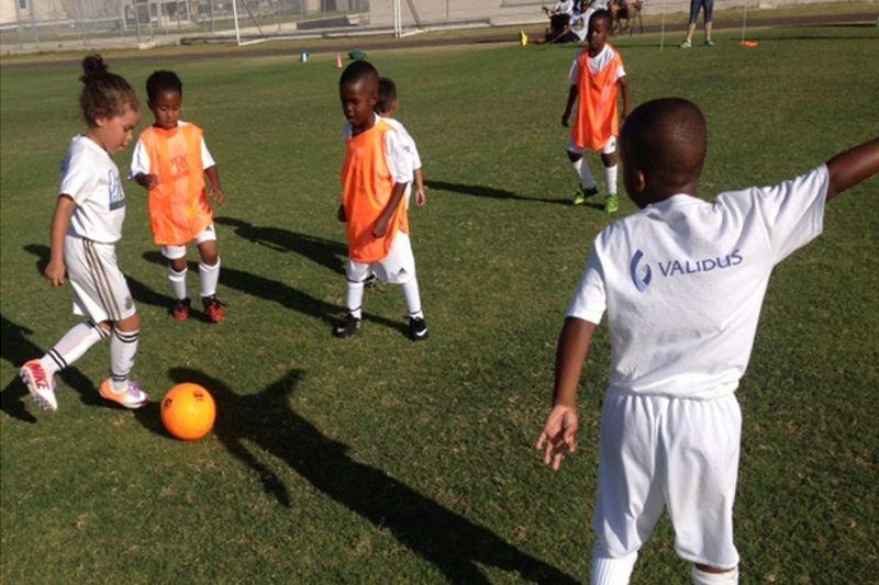 The 2015 Validus Pro Soccer Clinic 2