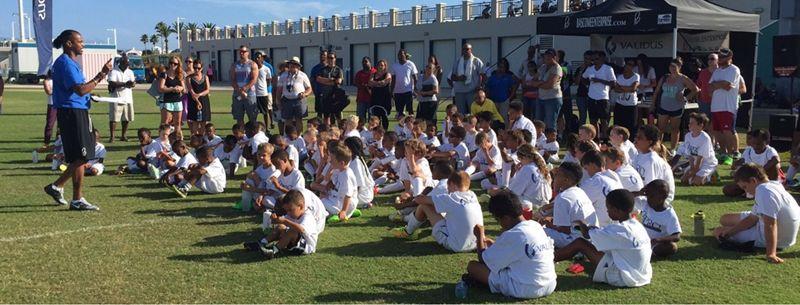 The 2015 Validus Pro Soccer Clinic 3