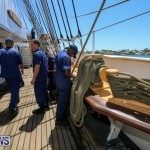 US Coast Guard Tall Ship Eagle In Bermuda, July 4 2015-1