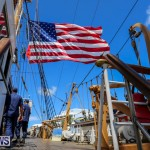 US Coast Guard Tall Ship Eagle In Bermuda, July 4 2015-12