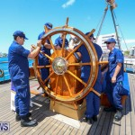 US Coast Guard Tall Ship Eagle In Bermuda, July 4 2015-18