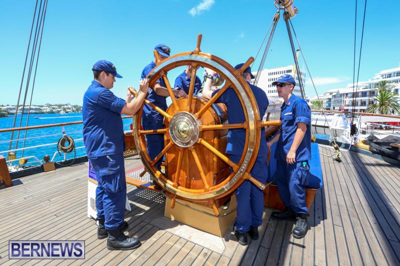 US-Coast-Guard-Tall-Ship-Eagle-In-Bermuda-July-4-2015-18
