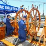 US Coast Guard Tall Ship Eagle In Bermuda, July 4 2015-19