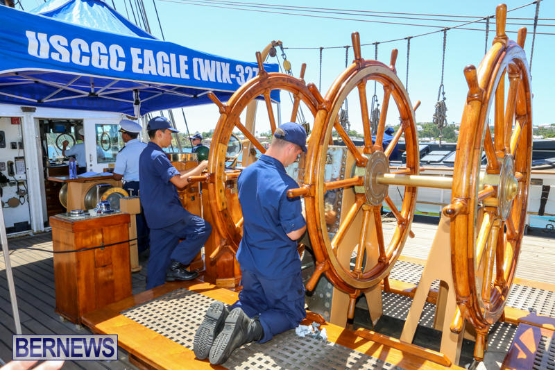 US-Coast-Guard-Tall-Ship-Eagle-In-Bermuda-July-4-2015-19