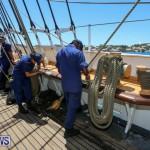 US Coast Guard Tall Ship Eagle In Bermuda, July 4 2015-2