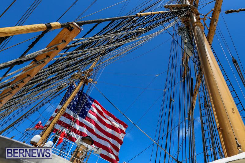 US-Coast-Guard-Tall-Ship-Eagle-In-Bermuda-July-4-2015-36