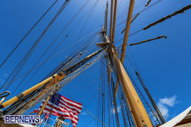 US-Coast-Guard-Tall-Ship-Eagle-In-Bermuda-July-4-2015-37