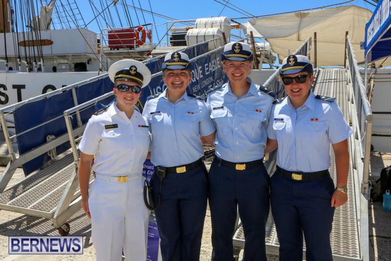 US-Coast-Guard-Tall-Ship-Eagle-In-Bermuda-July-4-2015-38