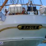 US Coast Guard Tall Ship Eagle In Bermuda, July 4 2015-40