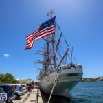 US Coast Guard Tall Ship Eagle In Bermuda, July 4 2015-41