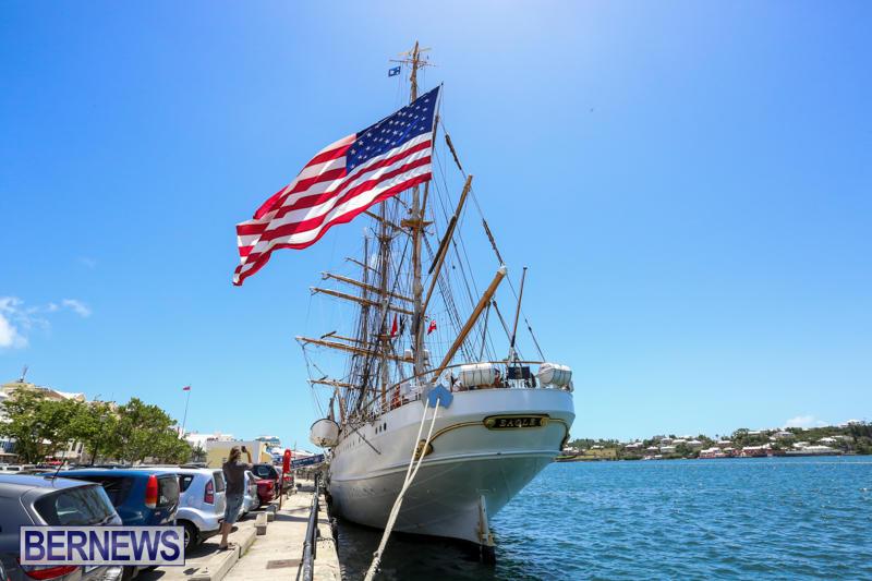 US-Coast-Guard-Tall-Ship-Eagle-In-Bermuda-July-4-2015-43