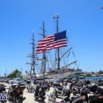US Coast Guard Tall Ship Eagle In Bermuda, July 4 2015-44