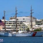 US Coast Guard Tall Ship Eagle In Bermuda, July 4 2015-47