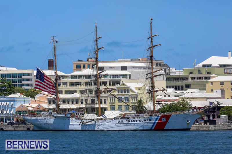 US-Coast-Guard-Tall-Ship-Eagle-In-Bermuda-July-4-2015-47