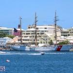 US Coast Guard Tall Ship Eagle In Bermuda, July 4 2015-48