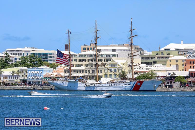 US-Coast-Guard-Tall-Ship-Eagle-In-Bermuda-July-4-2015-48