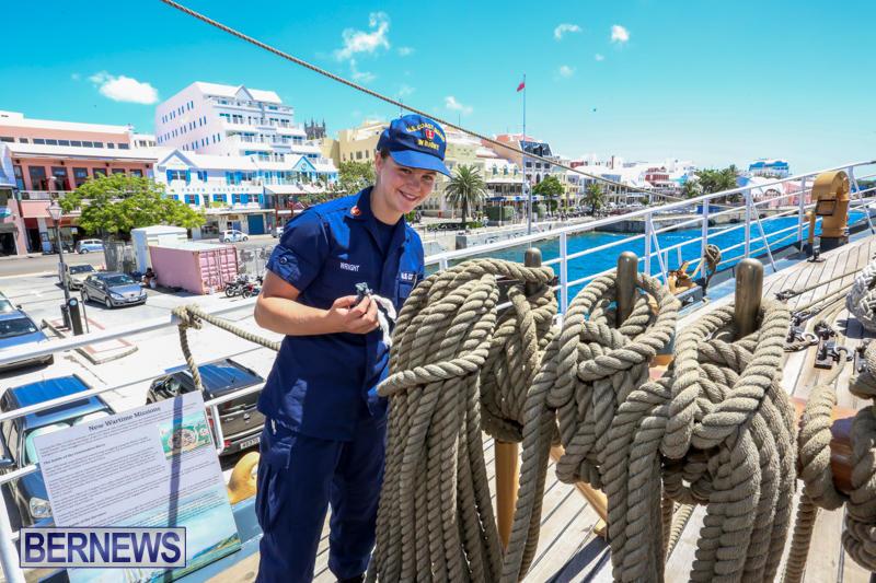 US-Coast-Guard-Tall-Ship-Eagle-In-Bermuda-July-4-2015-6