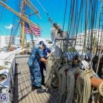 US Coast Guard Tall Ship Eagle In Bermuda, July 4 2015-8