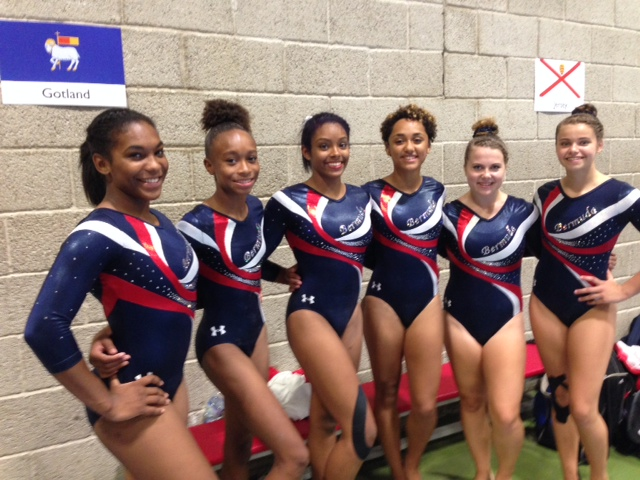 gymnastics Senior girls July 24 2015