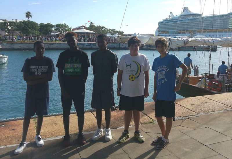 Bermuda Container Line Supports Warwick Academy (2)