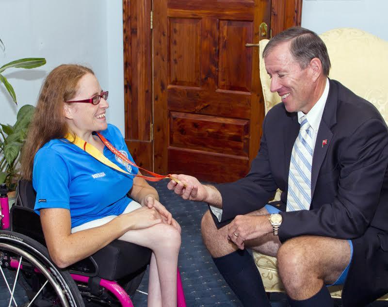 Jessica Lewis visits Cabinet Officer (5)