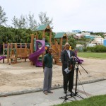 Parsons Road Playground Re-Opened (2)
