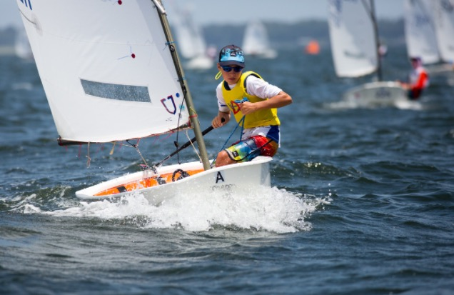 Past pictures of optimist in action August 21 2014 (6)