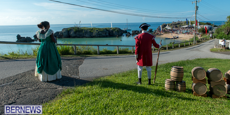 Tobacco bay reenactment Bermuda , August 15 2015 b