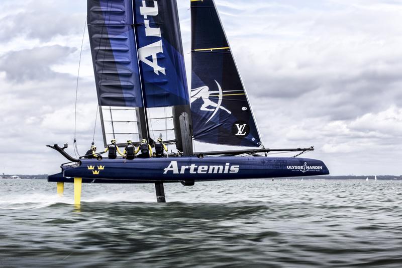 Artemis Racing AC45F Bermuda September 2015