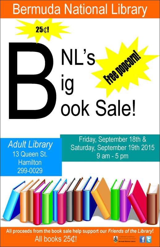 BNL-Big-Book-Sale Bermuda September 2015