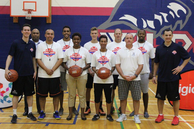 NBA Delivers Clinic To Local Basketball Coaches Bermuda September 2015 (1)
