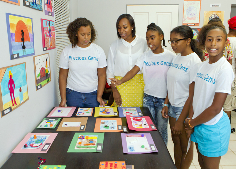 Teen Services held a completion ceremony Bermuda September 8 2015 (1)