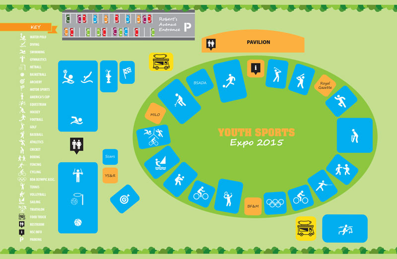 Youth Sport Expo 2015 Field Map