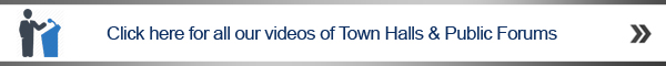 click here banner Town Halls and Public Forums