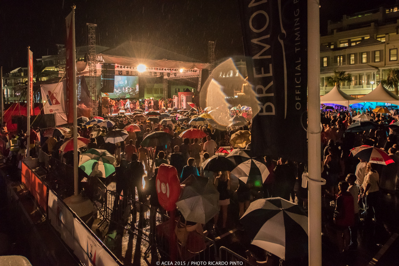 The America's Cup Jam of Louis Vuitton America's Cup World Series Bermuda