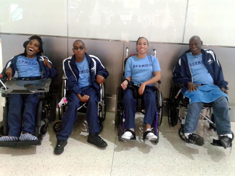 Bermuda Boccia Team Oct 15