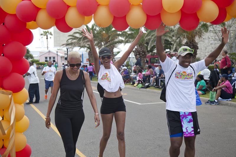 ETE Three people finish Bermuda October 2015