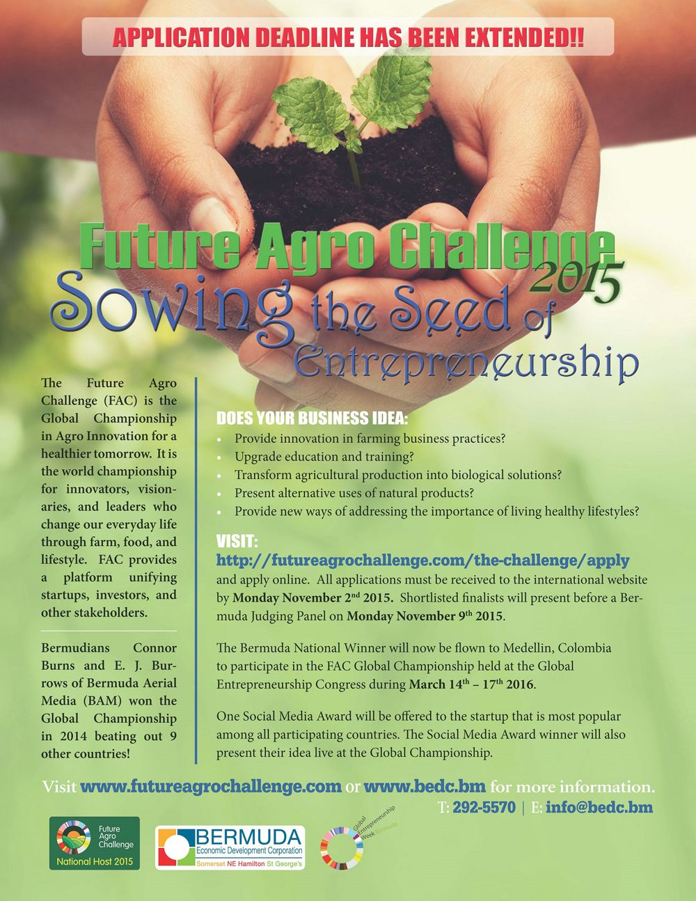 Future Agro Challenge Flyer (NOV Update) - Sept30'15