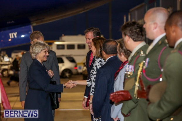 HRH The Duchess of Gloucester Bermuda, October 23 2015-5