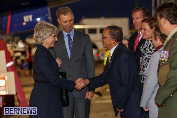 HRH The Duchess of Gloucester Bermuda, October 23 2015-6