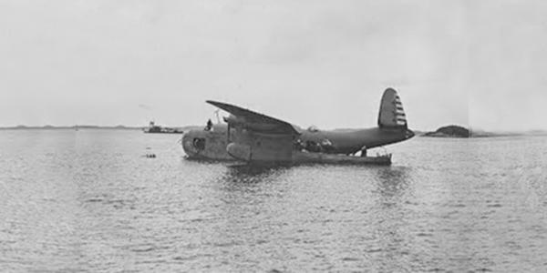 Jaap's plane in Bermuda
