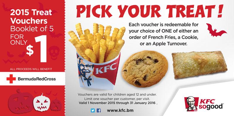 KFC Halloween Voucher