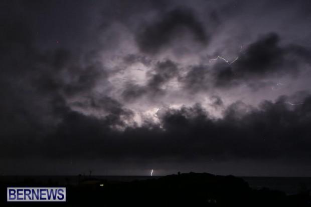 Lightning Bermuda, October 13 2015-10