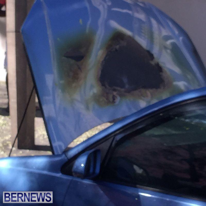Vehicle Fire On Reid Street In Hamilton Bermuda October 10 2015 ver2 (5)