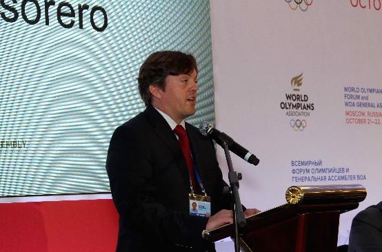 WOA Treasurer Patrick Singleton