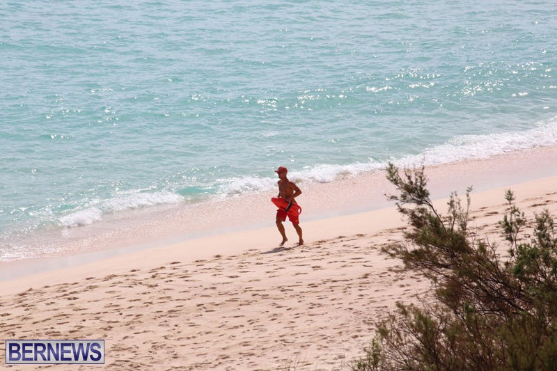 Warwick Long Bay reporting a male swimmer Bermuda October 12 2015 (1)