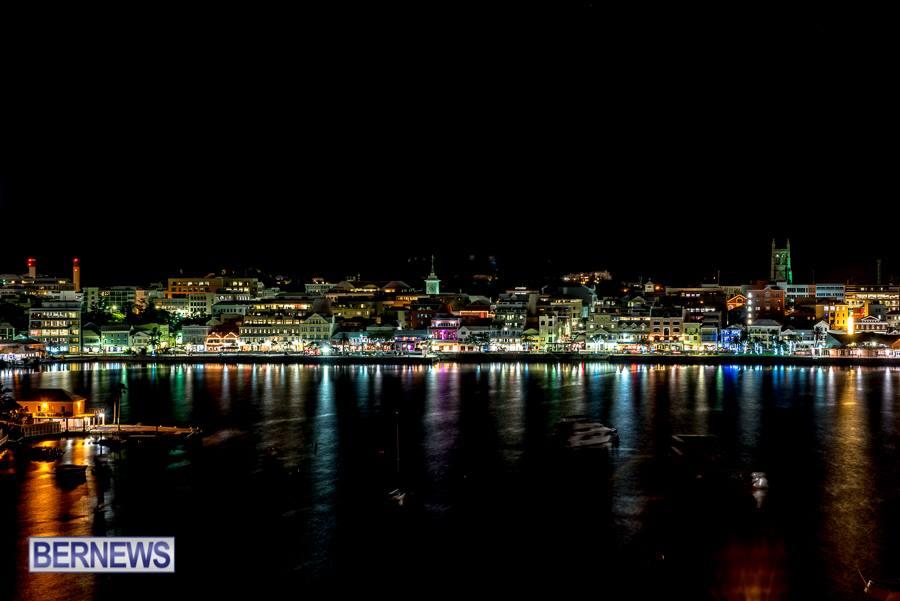 1388 Hamilton at Night Bermuda generic Nov 2015