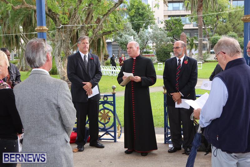 2015 BVRC Remembrance Day Bermuda (2)