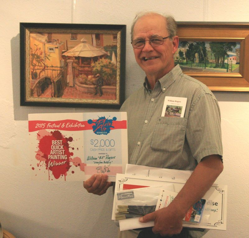 8 - William Bill Rogers, Plein Air Quick Art Winner